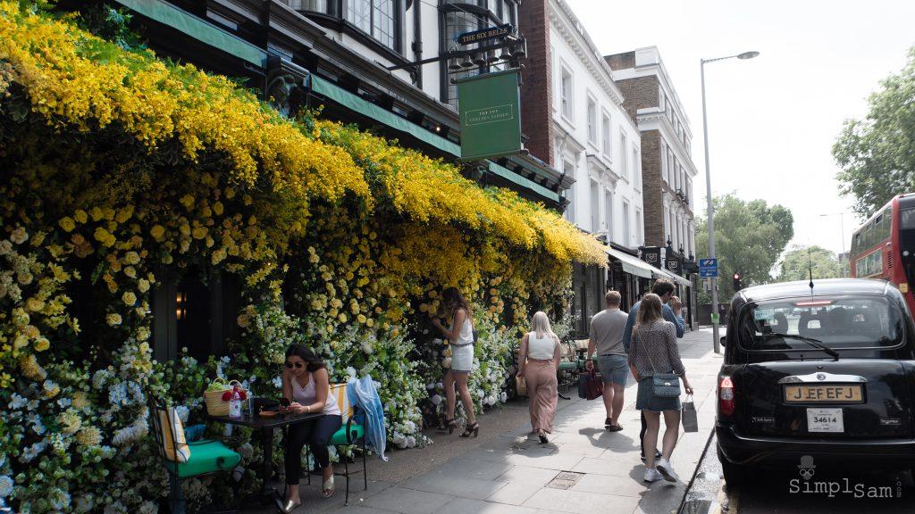 The Ivy Chelsea Garden / Six Bells - Chelsea in Bloom