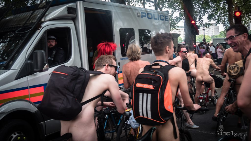 WNBR - Police keeping a watchful eye