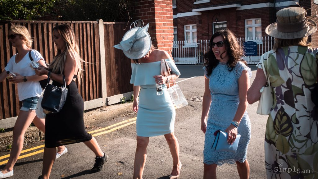 Royal Ascot - Ladies in Blue